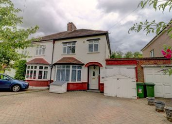 Thumbnail 4 bed semi-detached house for sale in Deyncourt Gardens, Upminster