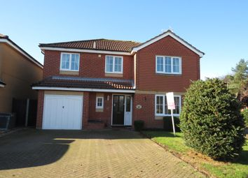 Thumbnail 4 bed detached house for sale in Long Barrow Drive, North Walsham