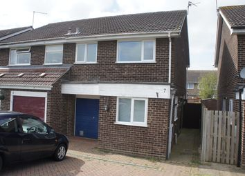 Thumbnail 3 bed semi-detached house to rent in Feneley Close, Deeping St James, Peterborough