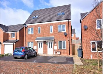 Thumbnail 3 bed semi-detached house for sale in Larchwood Road, Walsall