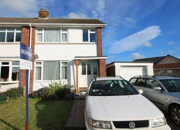 Thumbnail 3 bed semi-detached house for sale in Mendip Road, Yatton, North Somerset