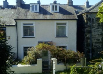 Thumbnail 3 bed end terrace house for sale in Britannia Place, Porthmadog