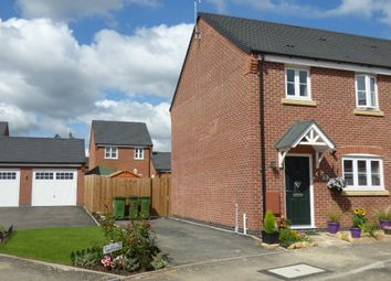Thumbnail 3 bed semi-detached house for sale in Wright Road, Stoney Stanton