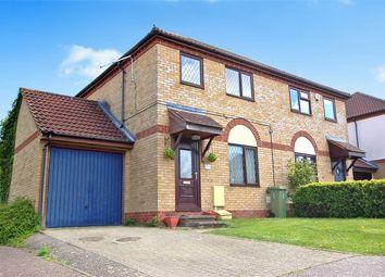 Thumbnail 3 bedroom semi-detached house for sale in Groundsel Close, Walnut Tree, Milton Keynes, Buckinghamshire