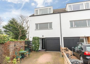 Thumbnail 4 bed end terrace house for sale in Lakeside, Weybridge, Surrey