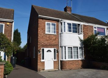 Thumbnail 3 bed semi-detached house for sale in Mead Close, Walton, Peterborough