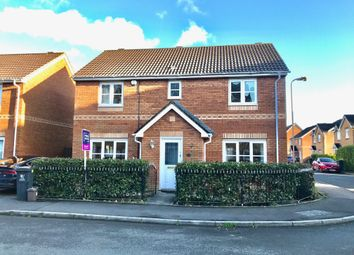 Thumbnail 4 bed detached house for sale in Spencer David Way, St. Mellons, Cardiff