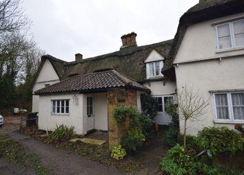 Thumbnail 2 bedroom terraced house for sale in Tilbury Hill, Tilbury Juxta Clare, Halstead