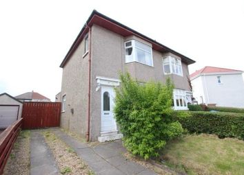 Thumbnail 2 bed semi-detached house for sale in Whirlow Road, Garrowhill, Glasgow, Lanarkshire