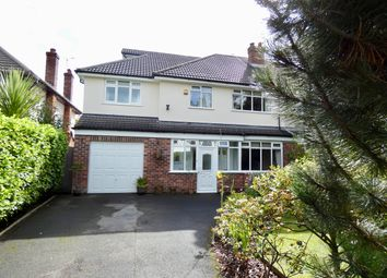 Thumbnail 5 bed semi-detached house for sale in St. James Road, Rainhill, Prescot