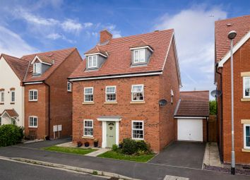 Thumbnail 5 bed detached house for sale in Johnsons Road, Fernwood, Newark
