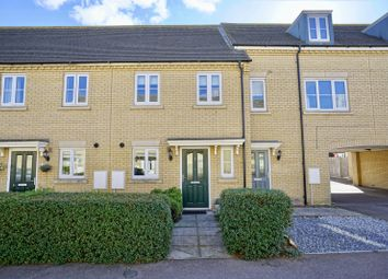 Thumbnail 2 bed terraced house for sale in Cook Drive, Eynesbury, St. Neots, Cambridgeshire