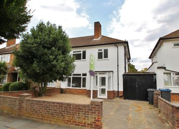 Thumbnail 3 bed semi-detached house for sale in Windsor Avenue, New Malden, Surrey