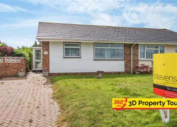 Thumbnail 2 bed semi-detached bungalow for sale in The Ridgeway, Herstmonceux, Hailsham