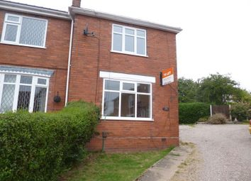 Thumbnail 2 bed semi-detached house to rent in Graham Street, Bucknall, Stoke-On-Trent