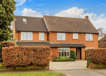 Thumbnail 6 bed detached house for sale in Warren Avenue, South Cheam, Sutton