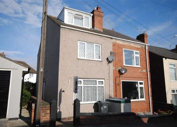 Thumbnail 4 bedroom semi-detached house for sale in Central Street, Hasland, Chesterfield, Derbyshire