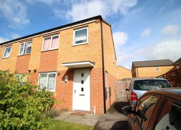 Thumbnail 3 bed semi-detached house to rent in Kylemore Way, Manchester