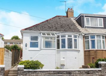 Thumbnail 2 bedroom semi-detached bungalow for sale in Ivanhoe Road, Plymouth