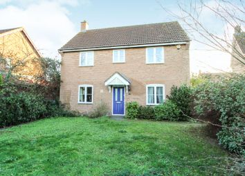 Thumbnail 4 bedroom detached house for sale in Wadworth Holme, Milton Keynes