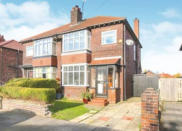 Thumbnail 3 bed semi-detached house for sale in Knypersley Avenue, Stockport