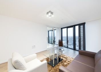 Thumbnail 1 bed flat to rent in Unex Tower, Stratford, London