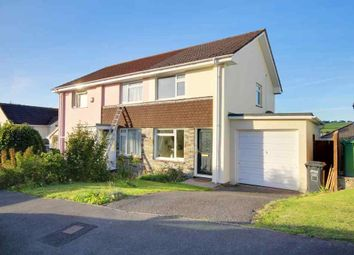 Thumbnail 2 bed semi-detached house for sale in Britten Drive, Barnstaple
