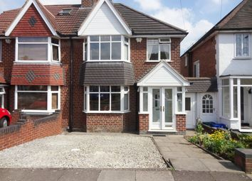 Thumbnail 3 bedroom semi-detached house for sale in Acheson Road, Hall Green, Birmingham