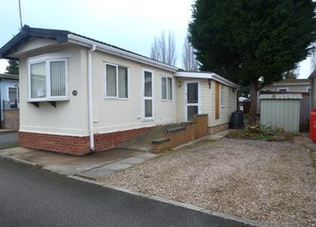 Thumbnail 1 bedroom mobile/park home for sale in Shelley Street, Loughborough