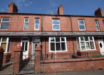 Thumbnail 3 bed terraced house for sale in Cleveland Street, Ruabon, Wrexham