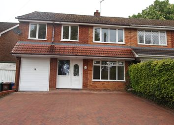 Thumbnail 4 bedroom semi-detached house to rent in Pineside Avenue, Rugeley