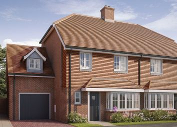 Thumbnail 4 bed semi-detached house for sale in Hellingly Green, Hailsham, East Sussex