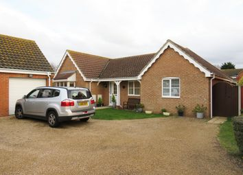 Thumbnail 3 bed detached bungalow for sale in Speedwell Close, Hopton, Great Yarmouth