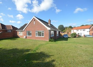 Thumbnail 3 bed detached bungalow for sale in Crown Road, Horsham St. Faith, Norwich