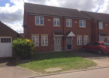 Thumbnail 3 bed semi-detached house for sale in Ravenser Court, Cleeve Road, Hedon