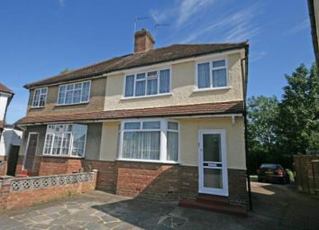 Thumbnail 3 bed semi-detached house to rent in Byron Road, Addlestone