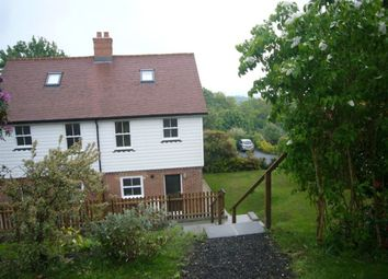 Thumbnail 3 bed property to rent in Vicarage Road, Burwash Common, Etchingham