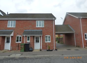 Thumbnail 2 bed end terrace house to rent in Bullfinch Drive, Harleston