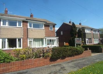 Thumbnail 3 bed semi-detached house to rent in Thornes Moor Close, Wakefield