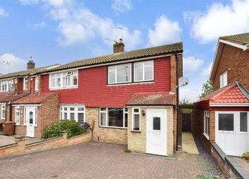 Thumbnail 3 bed semi-detached house for sale in Glebelands, Crayford, Kent