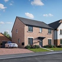 Thumbnail 4 bed detached house for sale in The Witley, Kings Crest, Stafford