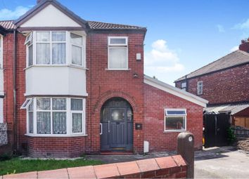 Thumbnail 3 bed semi-detached house for sale in Kingswood Road, Manchester