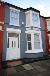 Thumbnail 3 bed terraced house to rent in Lambton Road, Aigburth, Merseyside