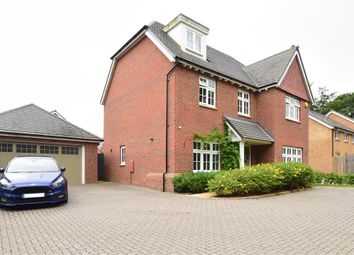 Thumbnail 5 bed detached house for sale in Whalebone Wood Road, Pease Pottage, Crawley, West Sussex