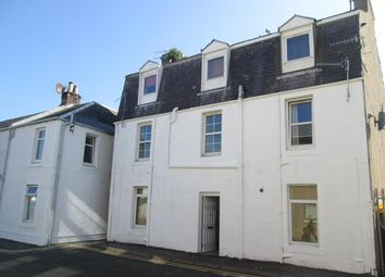 Thumbnail 1 bedroom flat to rent in Flat D 14, Lade Street, Largs