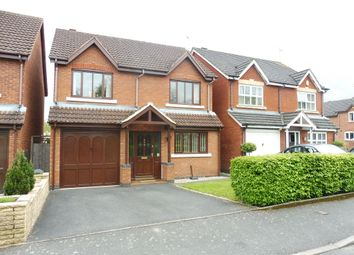 Thumbnail 4 bed detached house for sale in Caister Avenue, Berkeley Hunderton, Worcester
