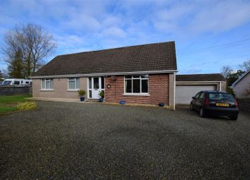 Thumbnail 3 bed detached bungalow for sale in Pill Road, Hook, Haverfordwest