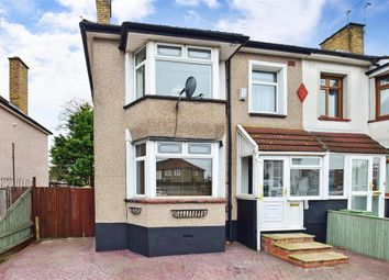 Thumbnail 3 bed end terrace house for sale in Hind Crescent, Erith, Kent