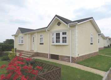 Thumbnail 2 bed mobile/park home for sale in Lee Green Lane, Church Minshull, Nantwich