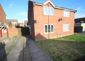 Thumbnail 2 bed semi-detached house to rent in Trent Road, Hinckley